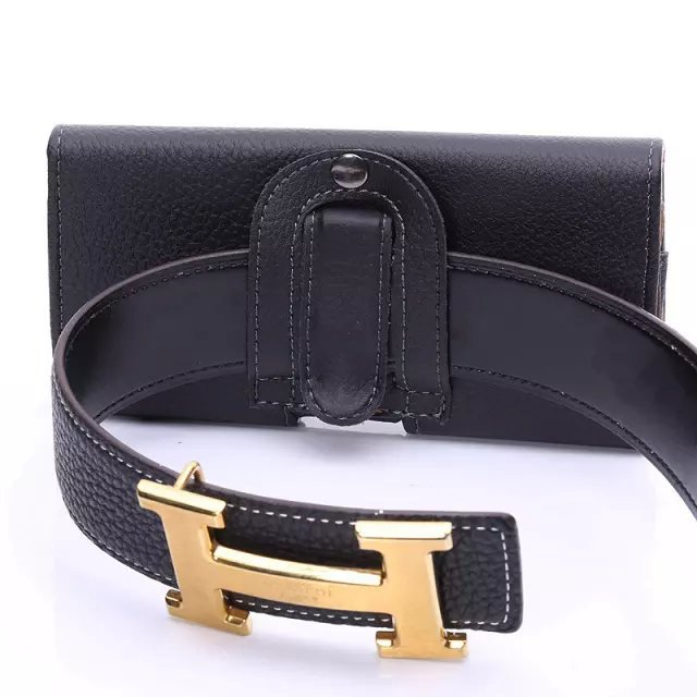 """Outdoor PU Leather Waist Belt Pouch Universal Phone Cover Case For Samsung galaxy j3 j5 a3 2016 grand prime 5.1"""" Below Holster"""