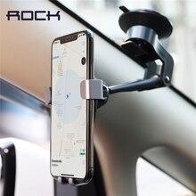 Support de téléphone de voiture de gravité de tableau de bord de roche, support de téléphone portable réglable de bâti de voiture en métal de liaison pour le support de support de voiture pour liphone