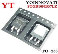 20ピース/ロットSTGB10NB37LZ GB10NB37LZ 440v 20A 125ワットD2PAK ic最高の品質。