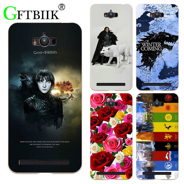 sports shoes a0fbe 974eb US $3.58 |For Game Of Thrones 7 Case For Asus Zenfone Max ZC550KL Z010D  5.5