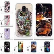 Phone Case For Samsung Galaxy A6 2018 Case Protective Back Covers Soft TPU for Samsung Galaxy A6 2018 Case Slicone Shells Coque(China)