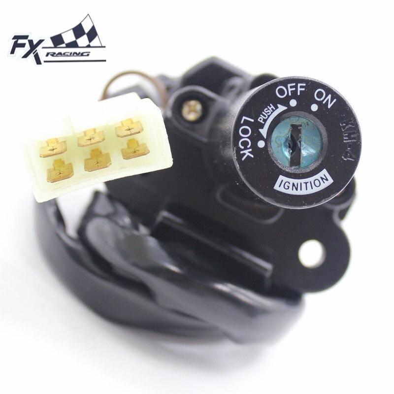 Ignition Switch Kawasaki Z1000 6 Wires
