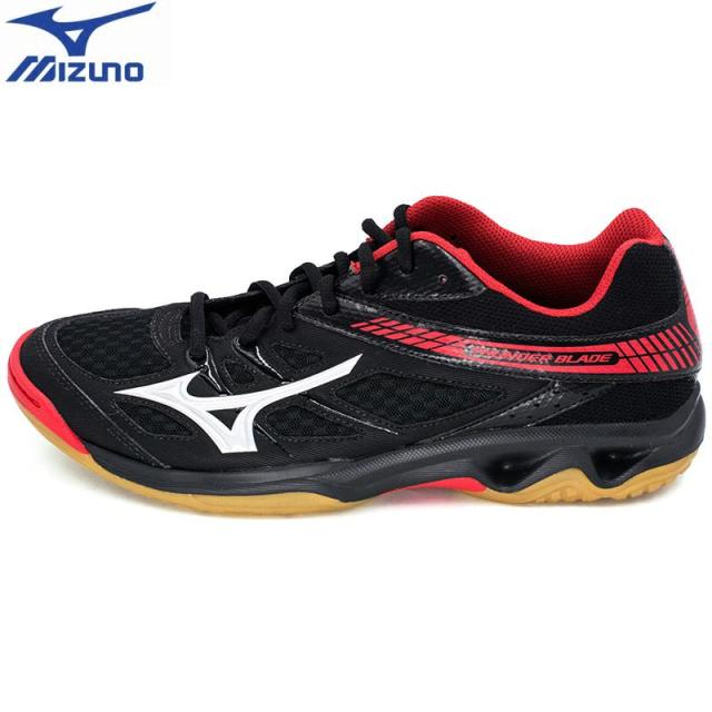 Original MIZUNO THUNDER BLADE Volleyball Shoes for men women Cushion Sports  Shoes Breathable Stability Sneakers bc0af109e0