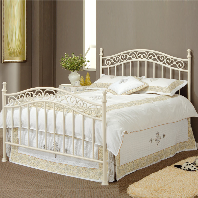 European Style Garden Princess Wrought Iron Bed Single Bed Double Iron Bed  Metal Frame Bed In Children Beds From Furniture On Aliexpress.com | Alibaba  Group