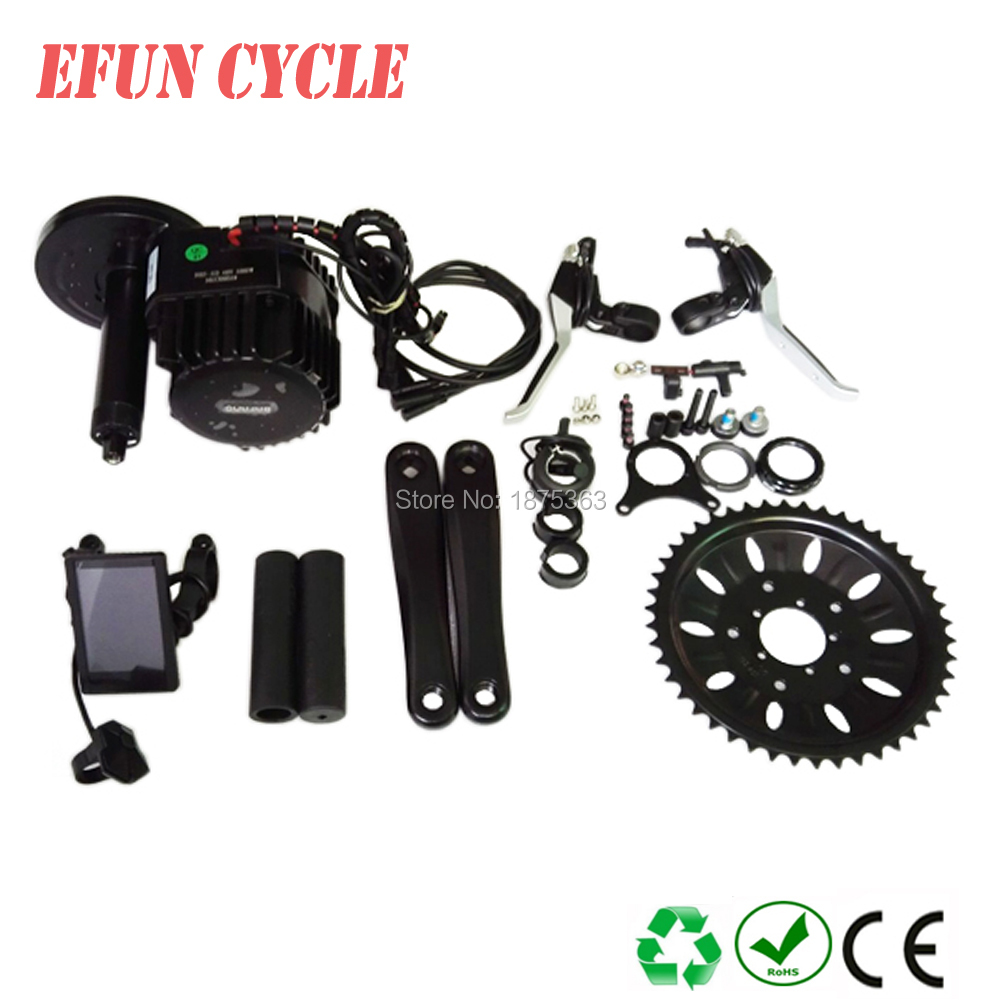 8FUN BBSHD 48V 1000W Ebike Electric bicycle Motor BAFANG mid drive electric bike conversion kit C965 display with Brake sensor free shipping electric bicycle 48v 1000w 8fun bafang bbs03 bbshd mid drive motor kit 68mm 100mm 120mm with c965 lcd display