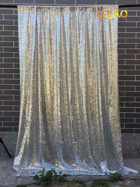 Gold Sparkle Curtains Shower 100 Curtain Silver Sequin