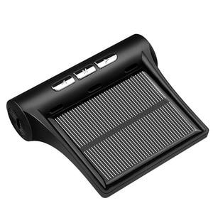 Image 2 - Auto Tpms Bandenspanningscontrolesysteem Zonne energie Opladen Auto Bandenspanning Sensor Lcd Display Auto Alarmsystemen
