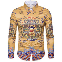 Loldeal Hip hop 3d shirts mens fashion shirt casual camiseta masculina fitness chemise homme clothing Asian size Chinese style