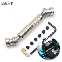 цена на Upgrade metal front universal drive shaft Transmission Shaft For WLtoys 12428 12429 12423 1/12 RC Cars parts Toys accessories