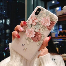 Rose Floral Phone Case iPhone 5 5s 6 6s Plus 7 8 Plus