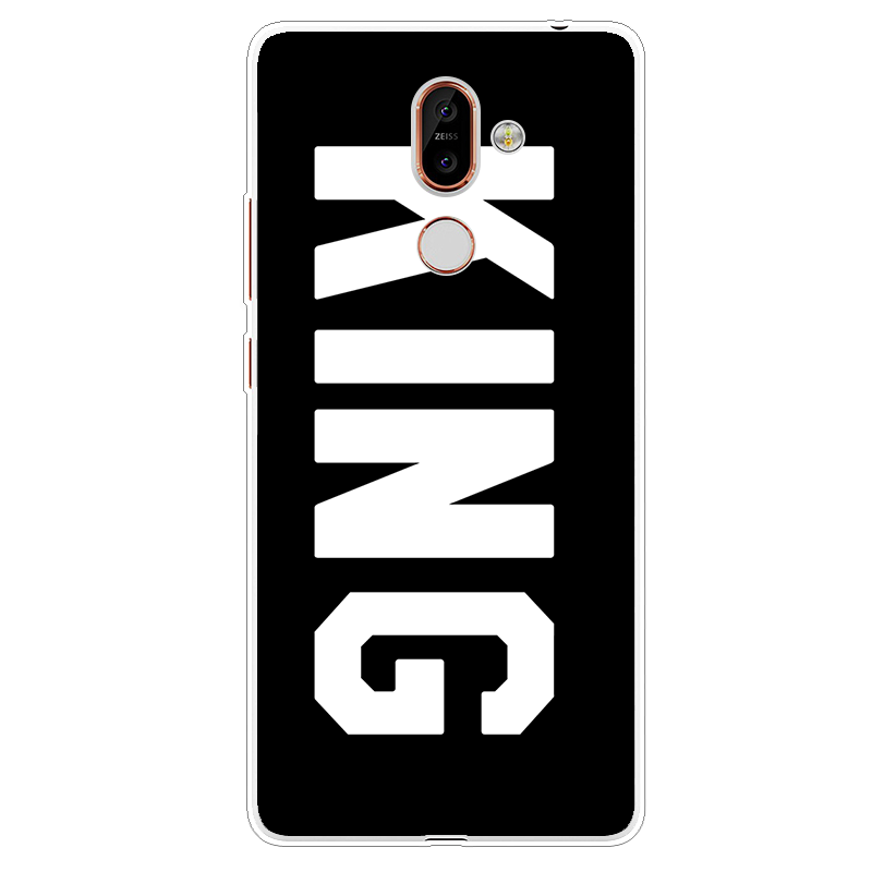 King Queen Quotes For Coque Nokia 7 Plus Case Luxury Soft Tpu