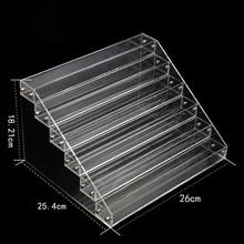 Nail Polish Acrylic Display Stand Rack Vernis Ongle Varnishes Tool Showcase Clear Shelf Storage Racks Holder