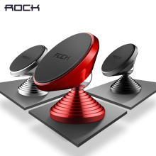Magnetic Mobile Phone Holder, ROCK 360 Degree Car Phone Holder Stand for iPhone 7 6 6s Galaxy S8