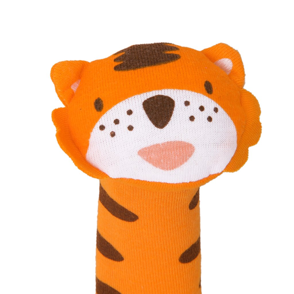 ABWE Baby toy in the shape of Tiger bar with Rattle Sound Fabric Toys ...