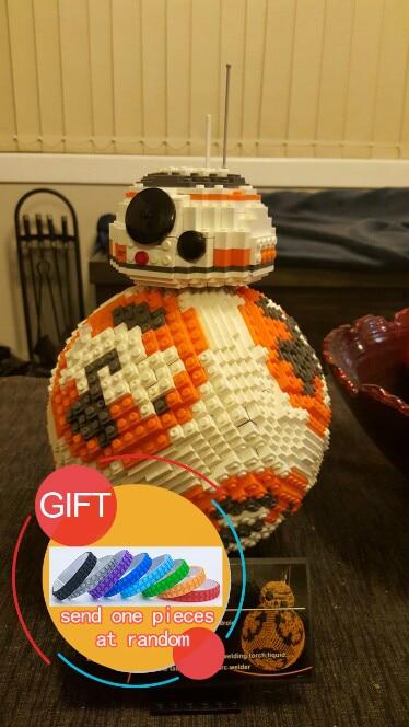 35020 2069PCS UCS Poe Dameron Astromech droid BB-8 Robot Model Building Block Gifts Model Building Kits 05033 LEPIN