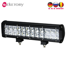 weketory 12 inch 120W 5D LED Work Light Bar for Tractor Boat OffRoad 4WD 4×4 Truck SUV ATV Spot Flood Combo Beam 12V 24v