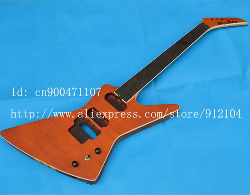 retail new Big John 7-strings electric guitar the brick guitar made in China +EMS free shipping F-1819 big john модель 65d