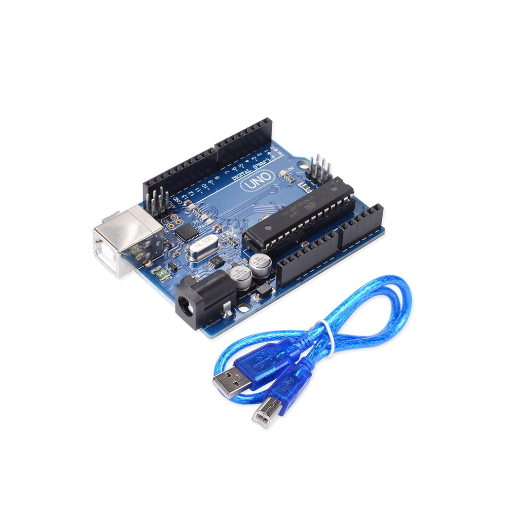 UNO R3 Development Board ATmega328P For Arduino DIY KIT With Straight Pin Header With USB Cable