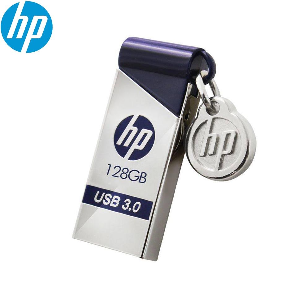 Original HP X715W USB3.0 High Speed USB Flash Drive 16GB 32GB 64GB 128GB Waterproof Antiproof Memory Pendrive For Computer Car
