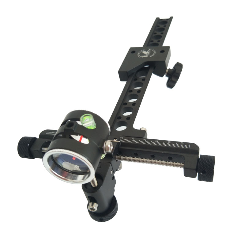 1Pins Archery Compound Bow Target Bow Sight 0.059 Adjustable 4X Lens Micro Bow Sight Hunting Accessory1Pins Archery Compound Bow Target Bow Sight 0.059 Adjustable 4X Lens Micro Bow Sight Hunting Accessory