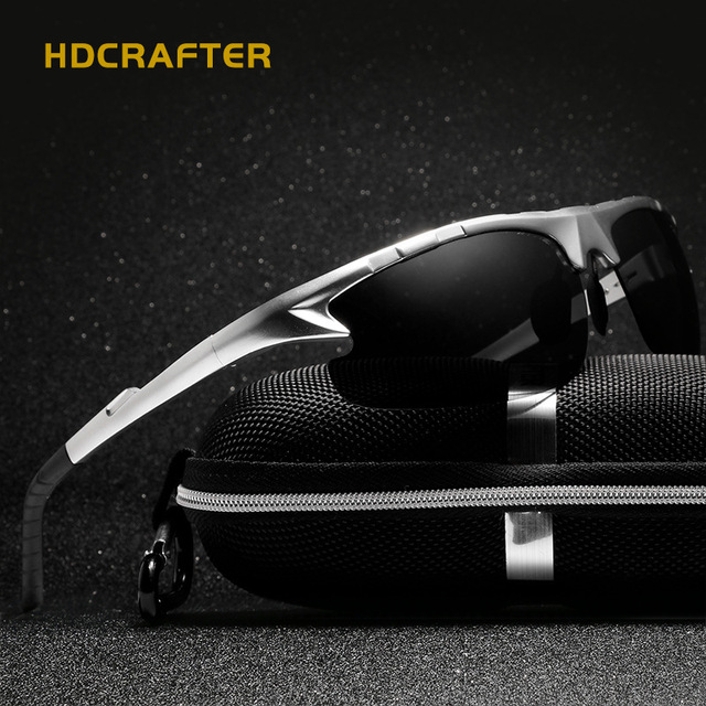 ef3cc1f0a81fc Aliexpress.com   Buy Aluminum Magnesium Brand Design Polarized Mens  Sunglasses Sport Sun Glass Driving Mirror Eyewear for Men Male oculos  masculino from ...