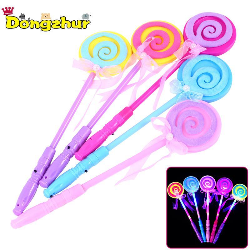 1pc Magic Tricks Hildren Light Magic Bar Fairy Stick Children's Toys LED Lamp Toy Magic Wand Random Color WJ1295