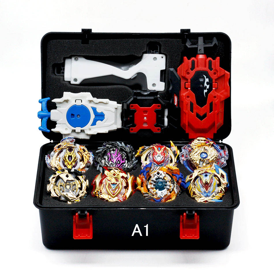 Hot Sale Beyblade Burst Box Sports Starter Zeno Excalibur B-122 B121 B120 B117 With Launcher And Retail Box Gifts For Kids