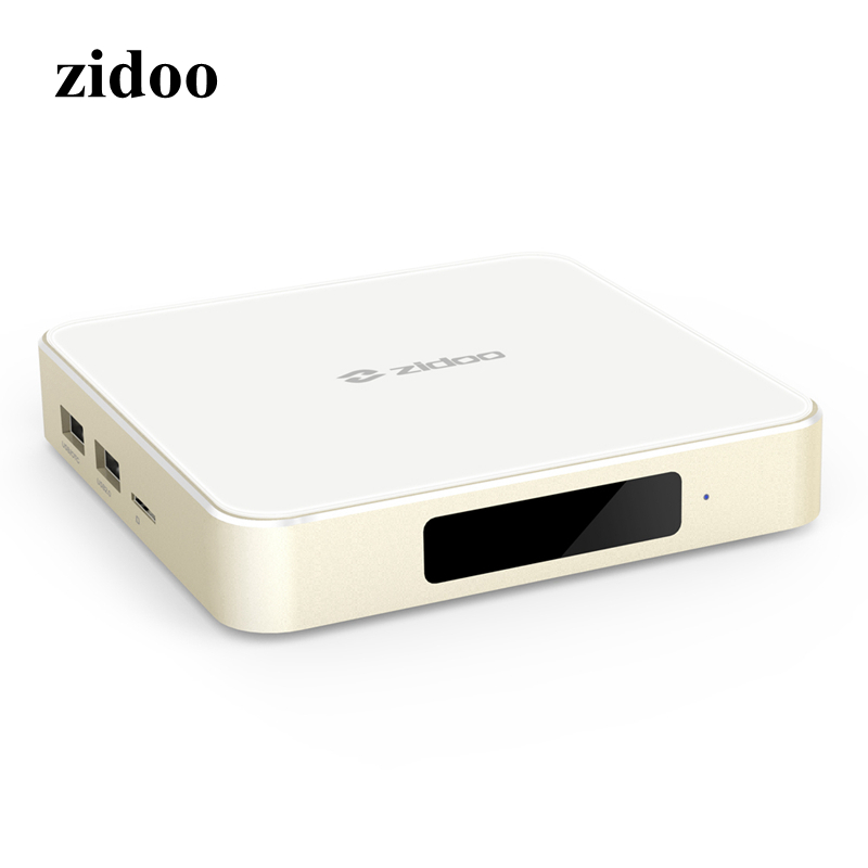 ZIDOO H6 PRO TV Box 2GB RAM 16GB ROM Android 7.1 2.4G 5.0G WiFi Gigabit LAN Bluetooth 4.1 Smart Set Top Box zidoo h6 pro iptv tv box os android 7 0 2gb 16g wifi bluetooth hdmi per install kodi add on live tv series movie music