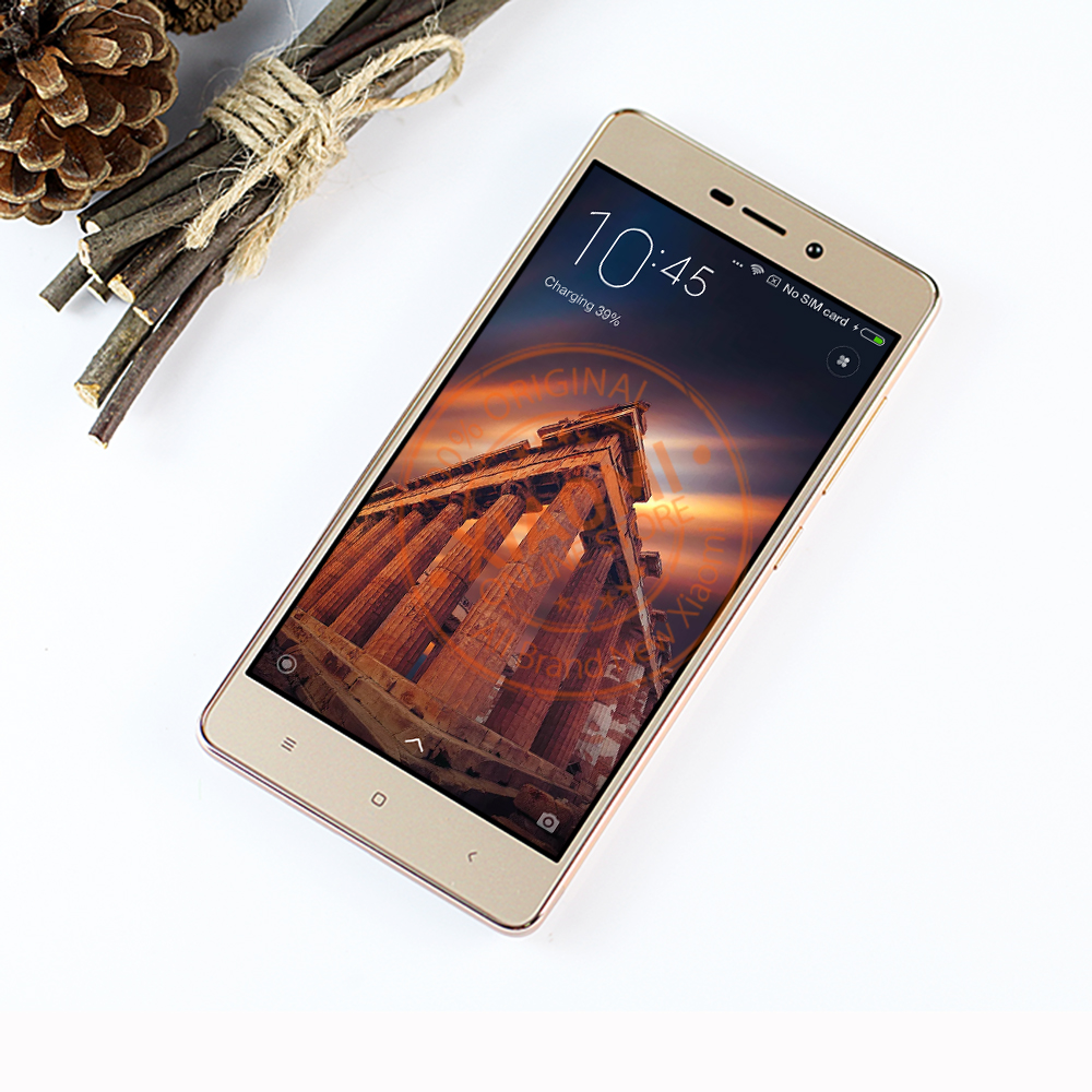 Official Global Version Xiaomi Redmi 3s Prime Octa Core 3gb Mobile 32gb Gold Phone Snapdragon 430 4100mah 50 Ota B7 B20 Miui81 In Phones From