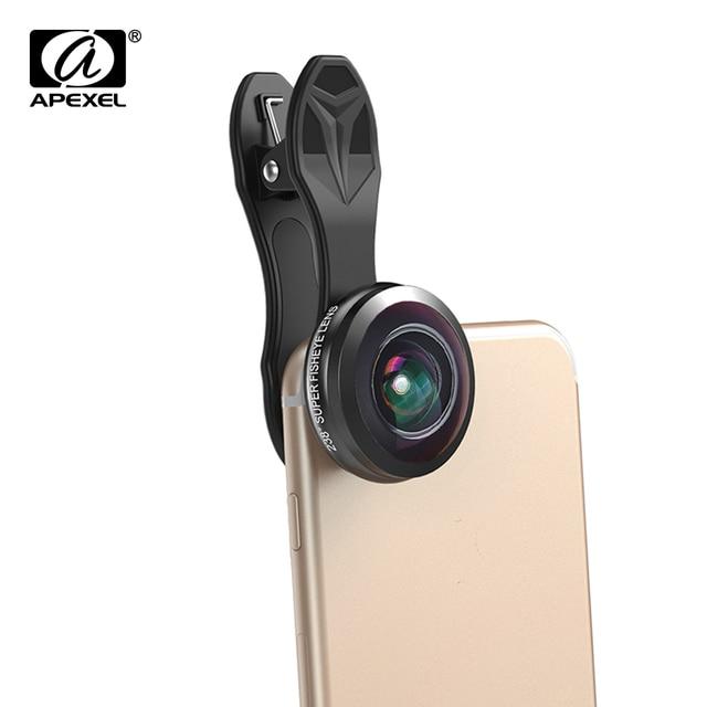 APEXEL 0.2X full frame super Wide angle lenses 238 degree super ...