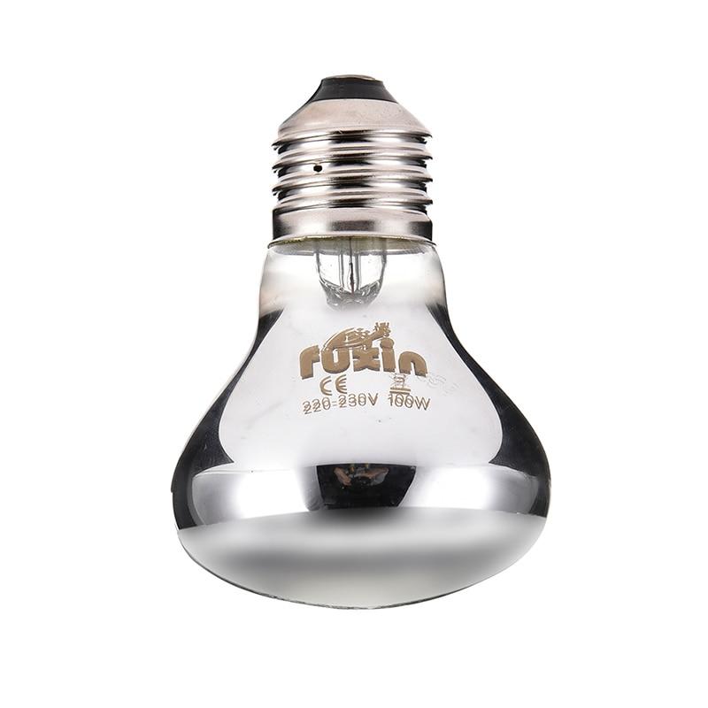 25/50/75/100w Mini Reptile Daylight Lamp Thermal Light Lamp For Snakes Lizards Tortoise E27 Reptiles Amphibian Animal Lighting #1