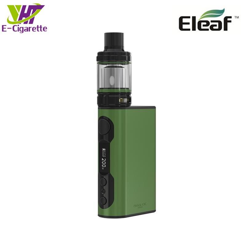 Original Eleaf iStick QC 200W Kit Electronic Cigarette Kit 510 thread 5000mAh Battery Eleaf Vape Tank Kit электронная сигарета eleaf istick qc 200w с melo 300 clearomizer kit