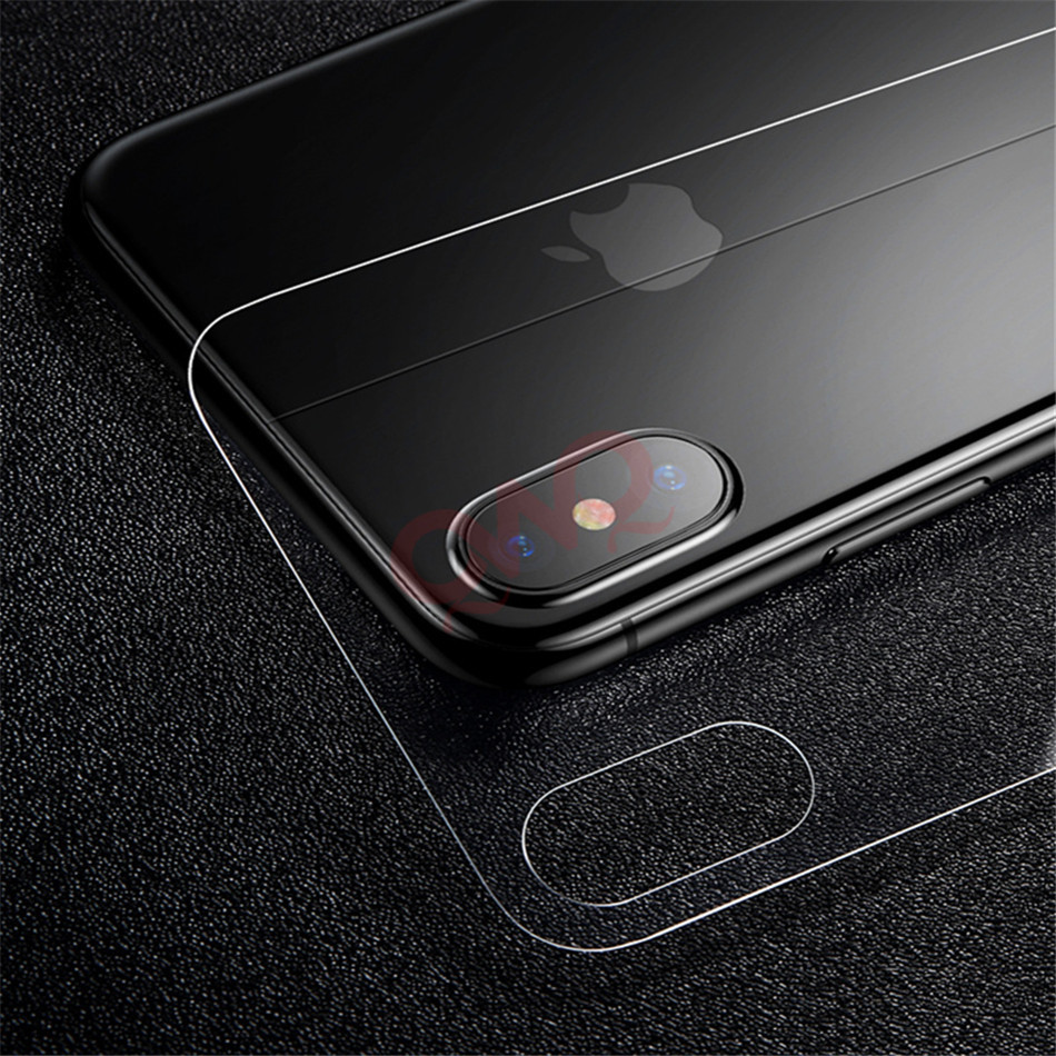 9H Rear Full Cover Tempered Glass For iPhone X On The Back Screen Protector For iPhone X 10 Protective Toughened Glass Back Film in Phone Screen Protectors from Cellphones Telecommunications