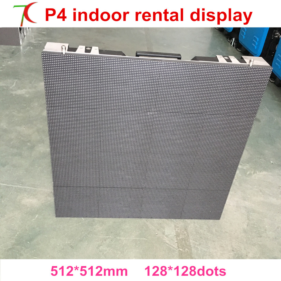 The Most Cost-effcetive Indoor P4 16scan Full Color Die-casting Aluminum Cabinet For Rental Business, 512*512mm,2000cd,smd2121