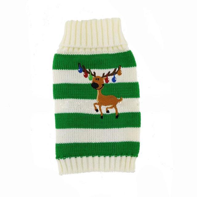 Weihnachten Elch Muster Haustier Hund Welpen Kleidung Herbst Winter ...
