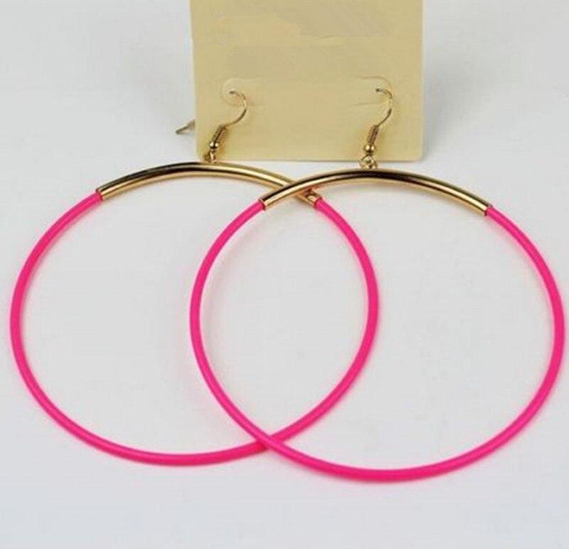Online Buy Wholesale neon hoop earrings from China neon ...