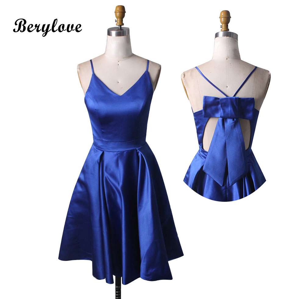 Buy royal blue graduation dresses short and get free shipping on  AliExpress.com 043c22220a0f