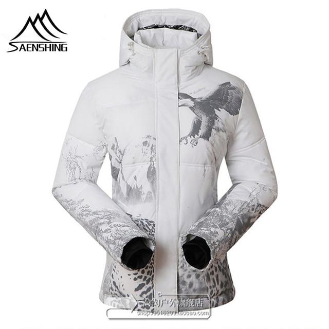 Высокое качество зимние уличные женские лыжная куртка для Для женщин Сноубординг зима дышащие ветровка Водонепроницаемый Для женщин куртка пальто
