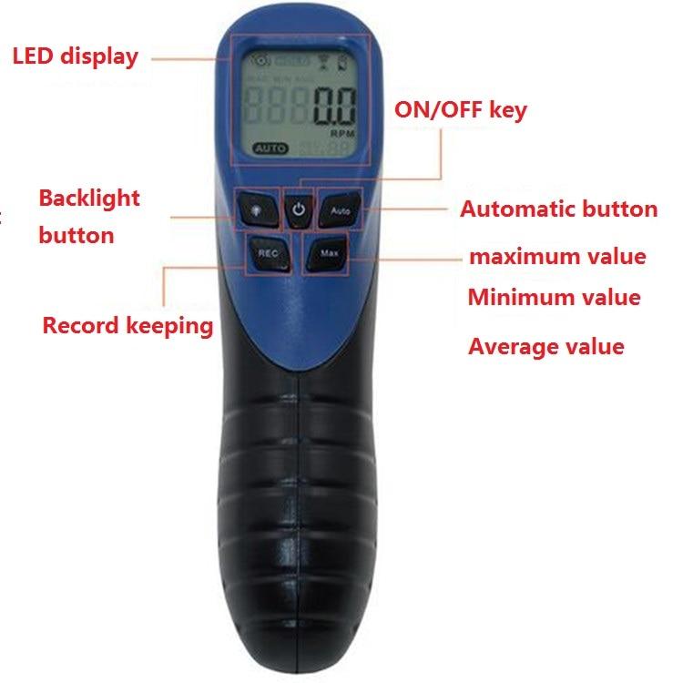 tasuta saatmine digitaalne tahhomeeter laseriga digitaalne - Tööriistakomplektid - Foto 2
