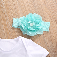 Baby Girls  Dreamcatcher  Romper +Lace Tutu Skirt Party Tulle +Headband  3pcs/Set