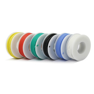 Image 3 - 18AWG 30m Flexible Silicone Rubber Cable Wire stranded wires Tinned Copper line Kit mix 6 Colors Electrical Wire DIY