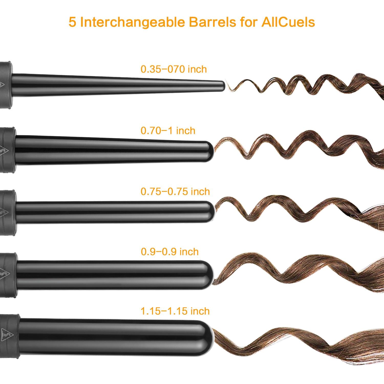 Profissional cabelo elétrico curling ferro ondulação do