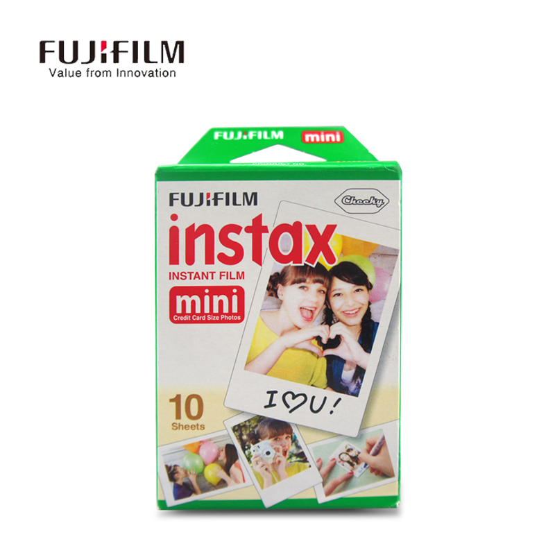 Galleria fotografica Fujifilm Instax Mini 9 90 8 25 7S 50s Film Fuji Camera Paper 3 inch 10 Sheets Mini 8 Film Fuji Instax Instant Photo White Edge