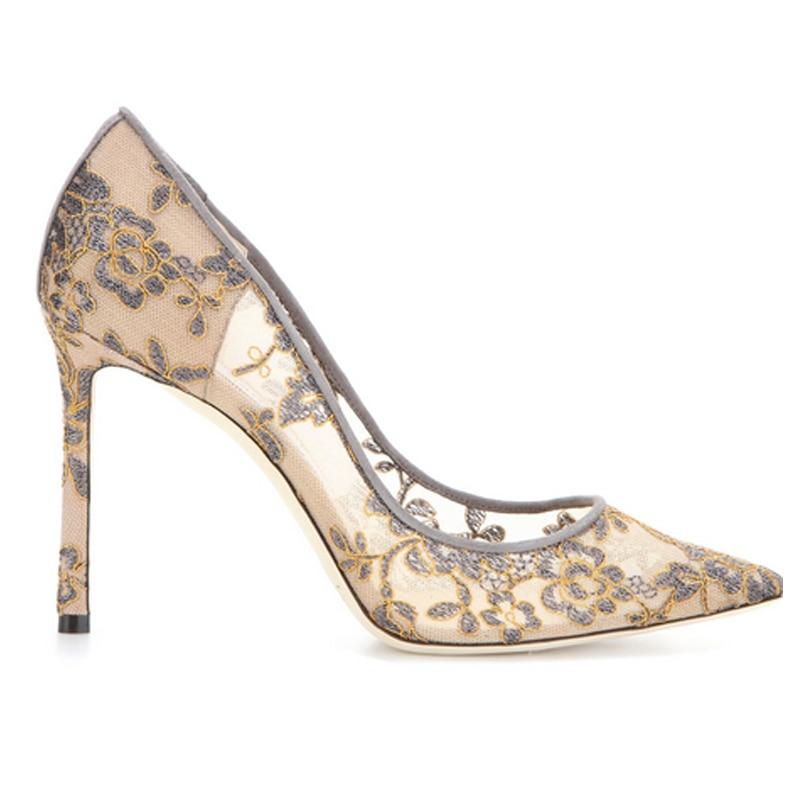 2019 Pink Encaje Skin De Tacones Las 10cm 8cm El 8cm Mujeres Zapatos Boda Color Banquete Of Bordado 8cm 10cm Superficial Black Sexy Skin 10cm Yasilaiya 4xTdCwqY