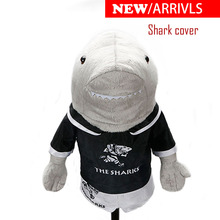 Golf clubs headcover driver Shark pets unisex golf protect covers free shipping