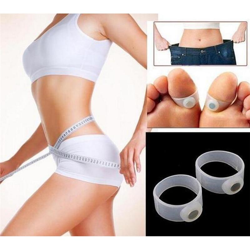 Gesundheitsversorgung Schlankheits-cremes Modestil Neue 1 Paar Abnehmen Gewicht Verlieren Pflege Werkzeug Silikon Magnetic Massage Fusszehenring PüNktliches Timing