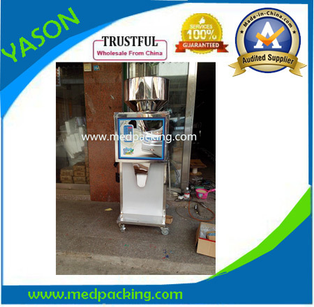 high quality automatic weighing packing machine for powder, rice, peanuts, tea, seeds,medicine GRINDING 5 500g automatic powder tea food intelligent packaging filling machine weighing granular high quality packing machine