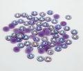 5 mm jalea Amethyst AB del Color SS20 Rhinestones de la resina cristalina flatback, del arte del clavo, 30,000 unids/bolsa