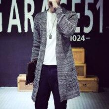 Supreme New The V collar CARDIGAN SWEATER MENS autumn Korean men's knitted cardigan