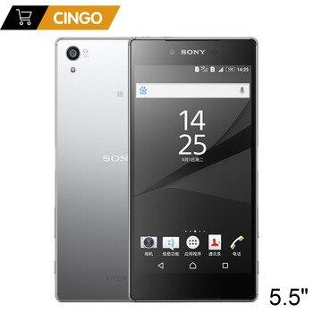 "Sony Xperia Z5 Premium E6883 Dual SIM 3GB RAM 32GB ROM 5.5"" Android Octa Core IPS 23MP Original Unlocked GSM LTE Mobile Phone"